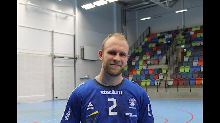 Hallbys återvändare Pål Wetterbrandt, var nöjd med de två poängen.