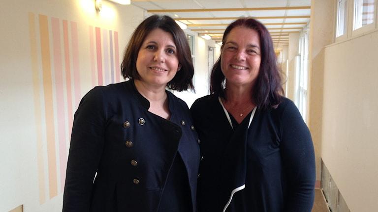 Borbardha Qvarnström och Yvonne Eriksson är två som har medverkat i utbildningen.