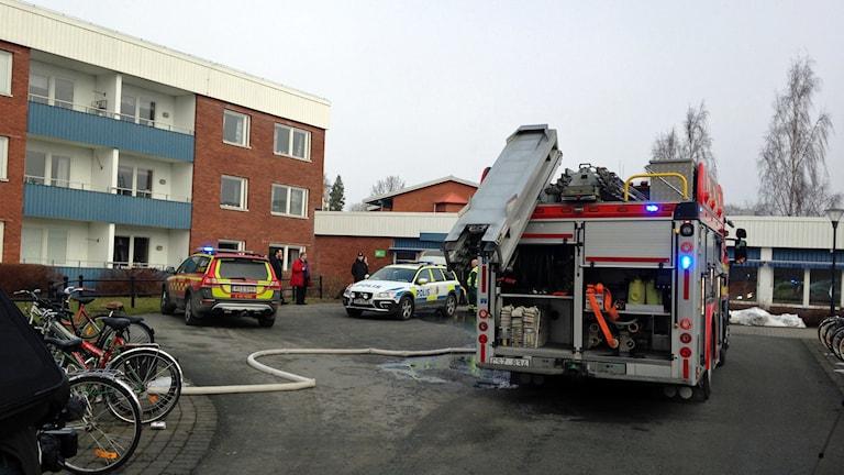Brand på Dalvik.