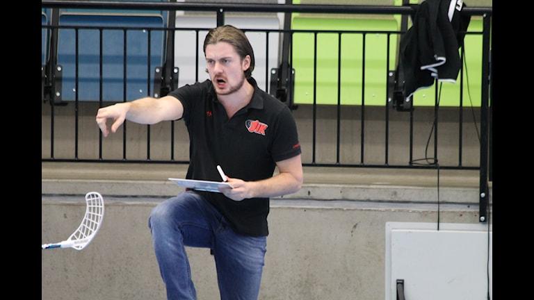 JIK:s tränare Niklas Pålsson.