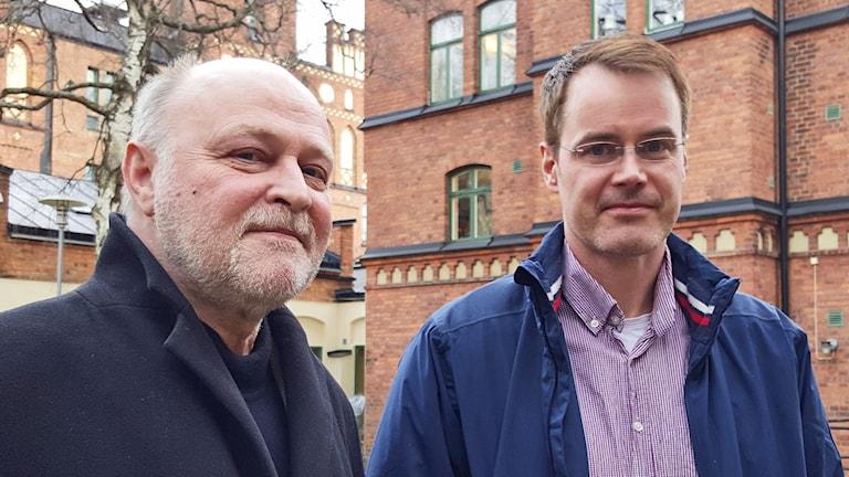 Terrorexperterna Klas Borell Marco Nilsson