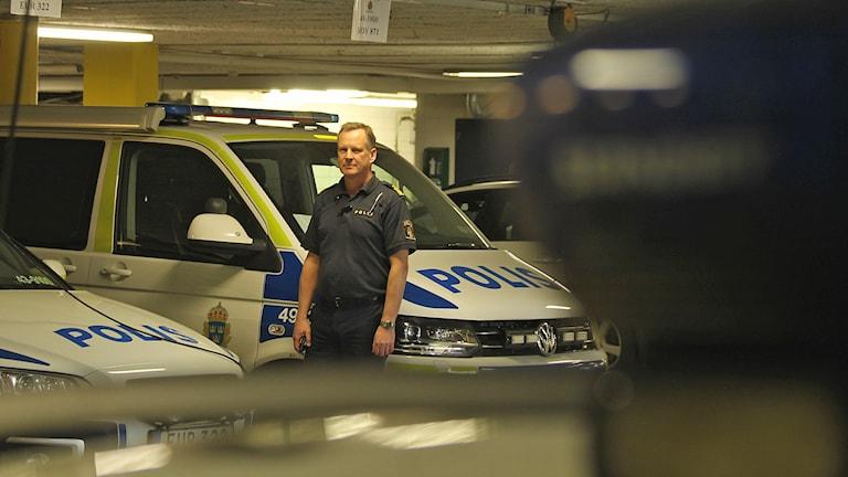 Lennart Leijon, polis.