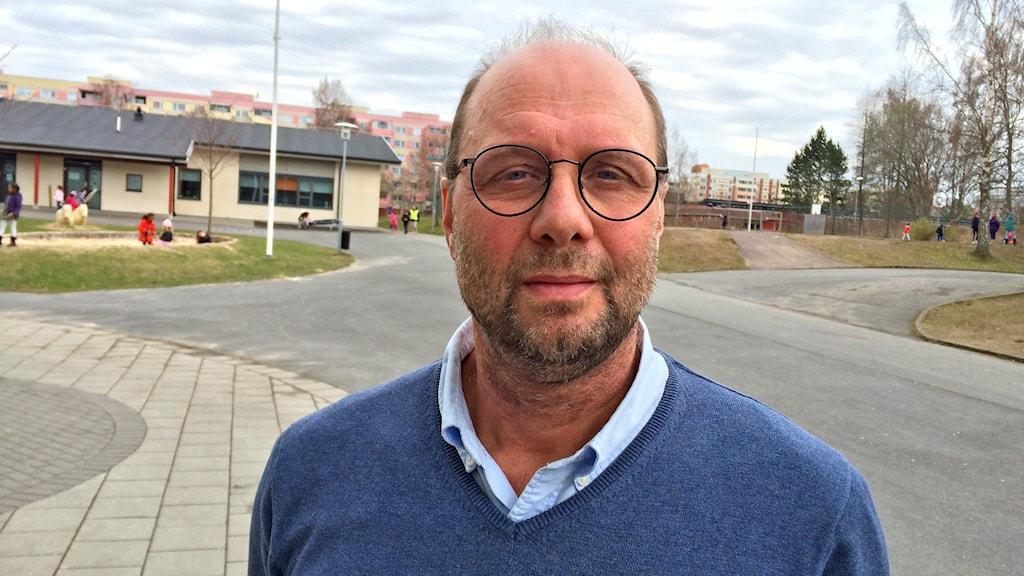Mats Östholm, rektor Råslättsskolan.