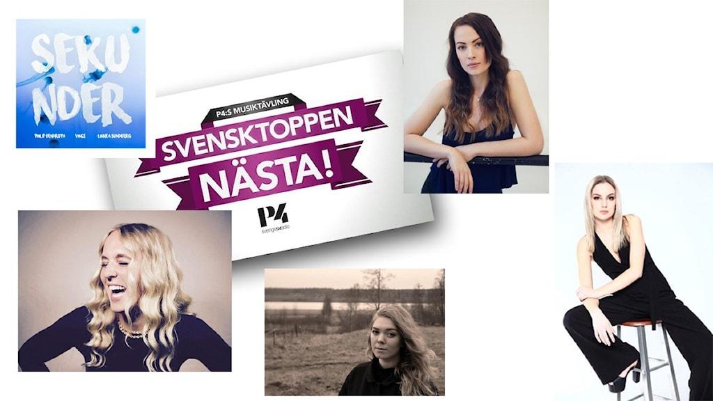 Finalister Svensktoppen nästa, P4 Jönköping