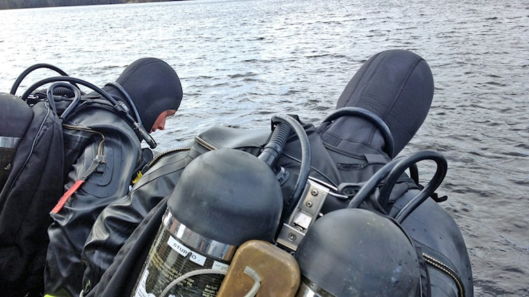 Marinens dykare.