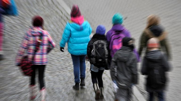 Barn och skola jagade Rosenlundsskolan flicka