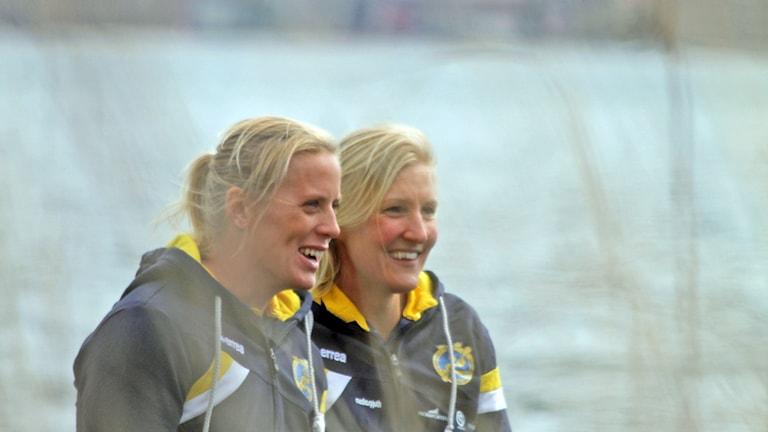 Sofia Paldanius och Karin Johansson
