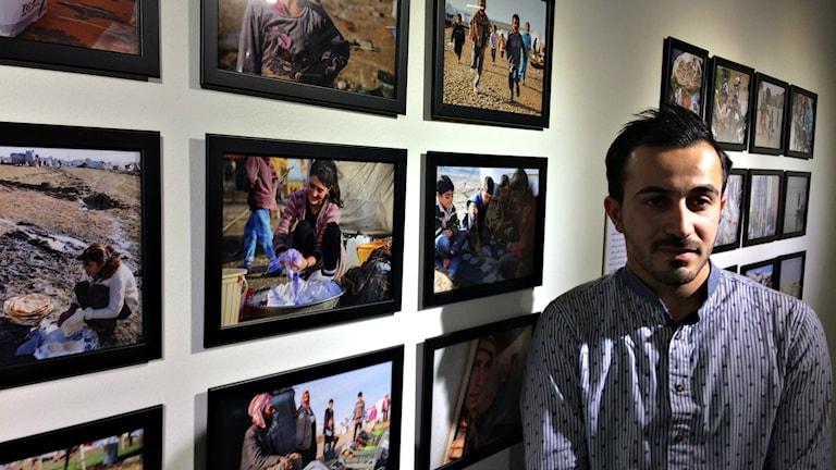 Naseem Hussein ställer ut på Österängens konsthall