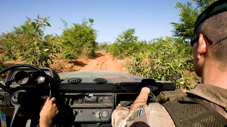 Svenska soldater i Centralafrikanska republiken.