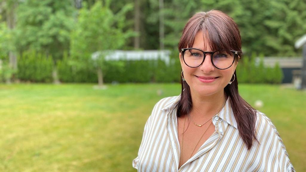 Porträttbild av Lena Sumedrea.