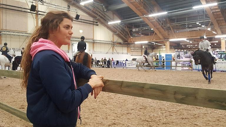 Elisa från Mönsterås Hästmässa