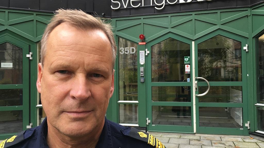 Lennart Lejion är tillförordnad polisområdeschef i Jönköpings län.