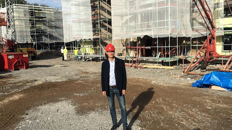 Urban Blücher, VD på Sävebo i Säsvjö