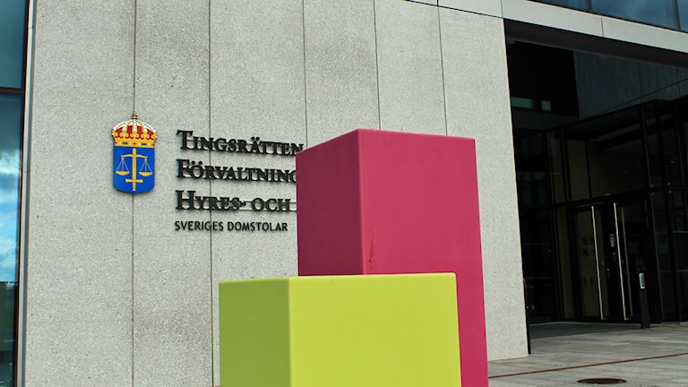 Tingsrätten. Foto: David Westh/Sveriges Radio.