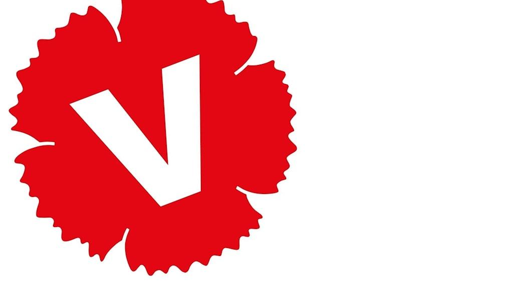 Vänsterpartiets logotype