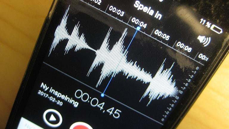 Telefoninspelning mellan arbetsgivaren K2 Comfort och en anställd