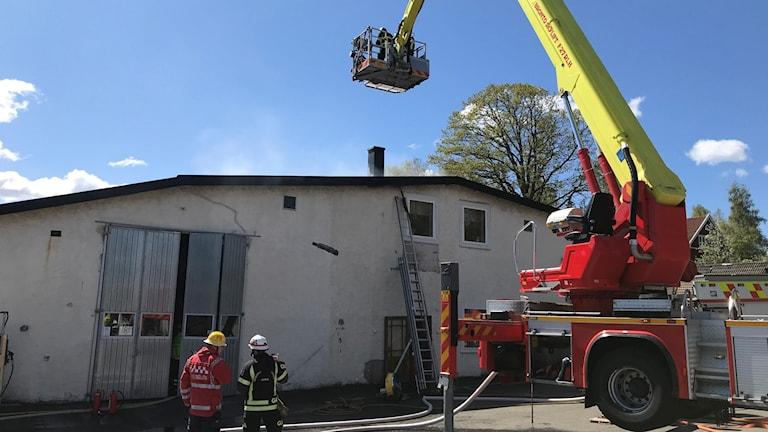 Brand i Brandstorp