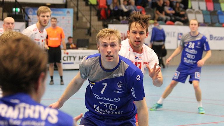 Olle Ek i Hallby handboll