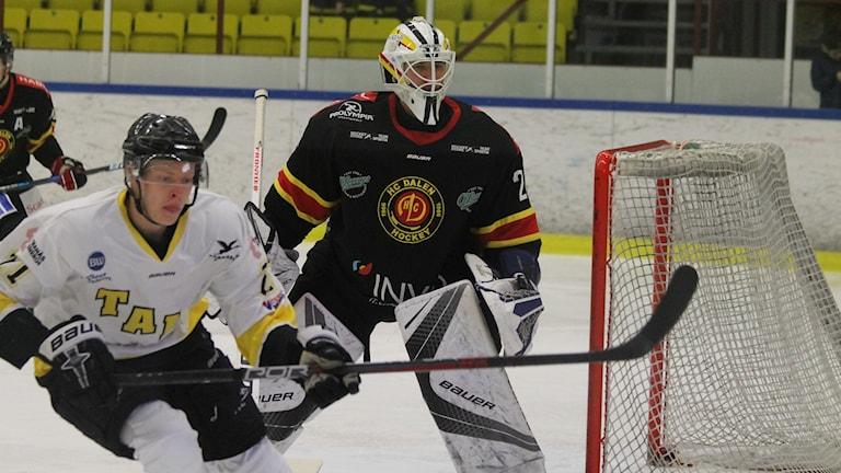 HC Dalens målvakt Anton Svensson.