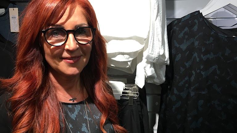 Kinga Johansson, butiksägare Vetlanda