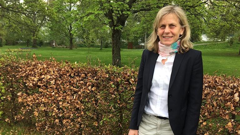 Lotta Larsdotter, som är direktör för vårdcentralerna som ägs av Region Jönköpings län.