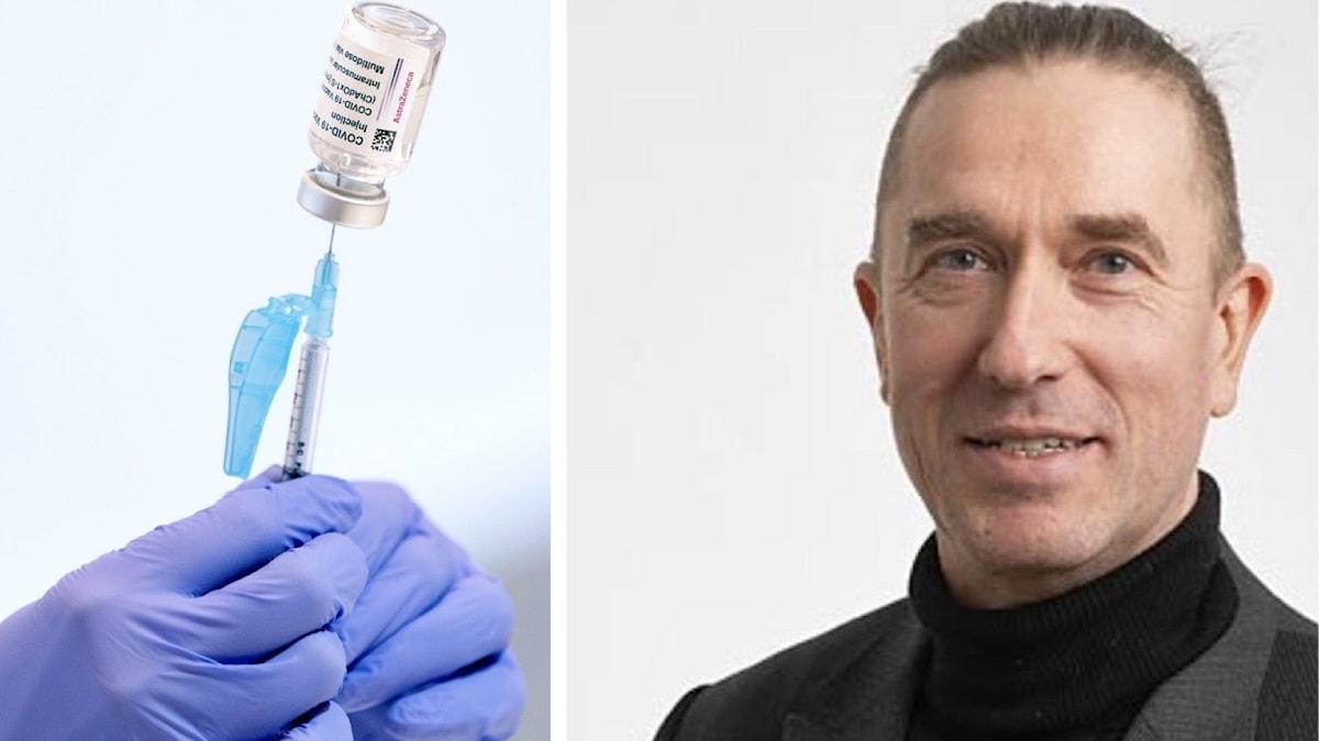 Jonas Almgren, vaccinsamordnare i Jönköpings län.