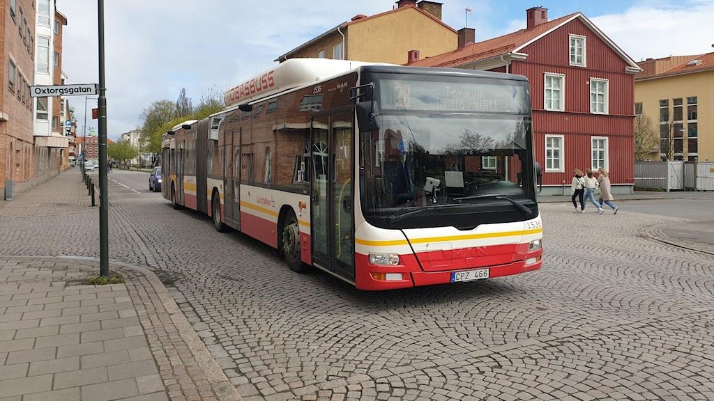 Stadsbuss i Jönköping.
