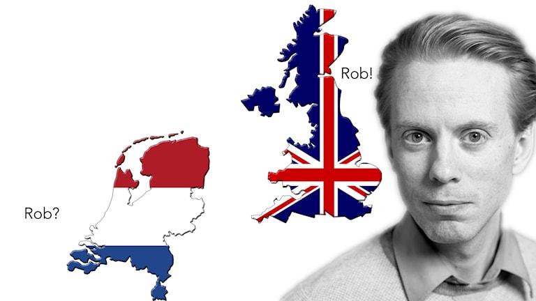 Holland, England och Oskar Mattisson.
