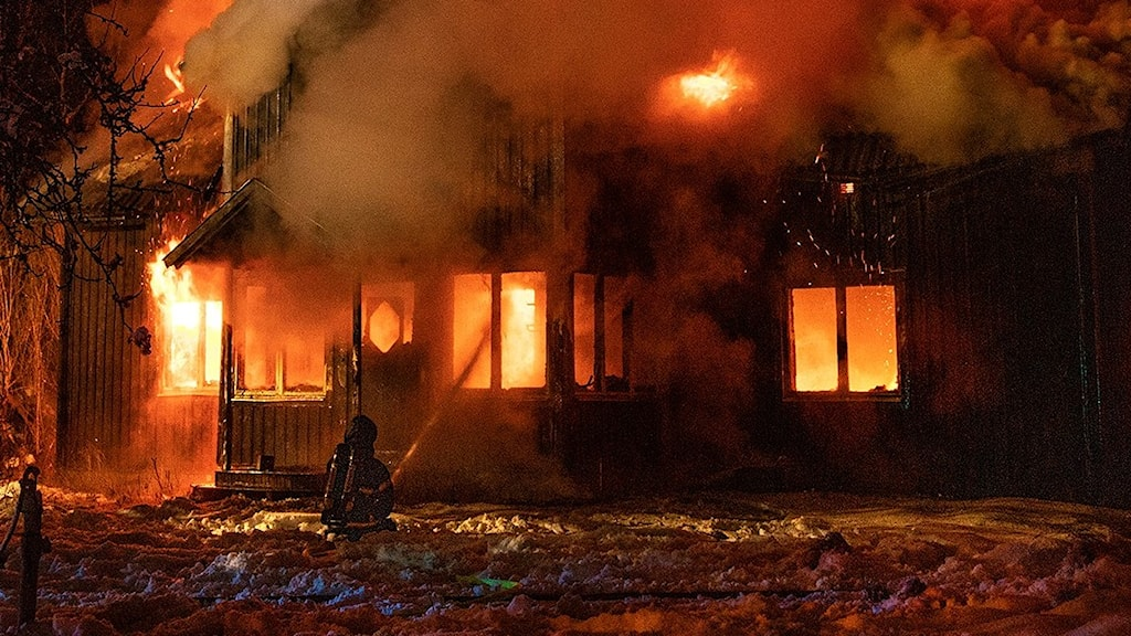 Villabrand Anneberg Nässjö, mordbrand