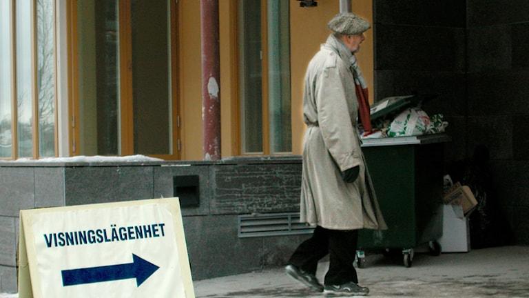 Fastighetsmäklare äldre bostadsbrist