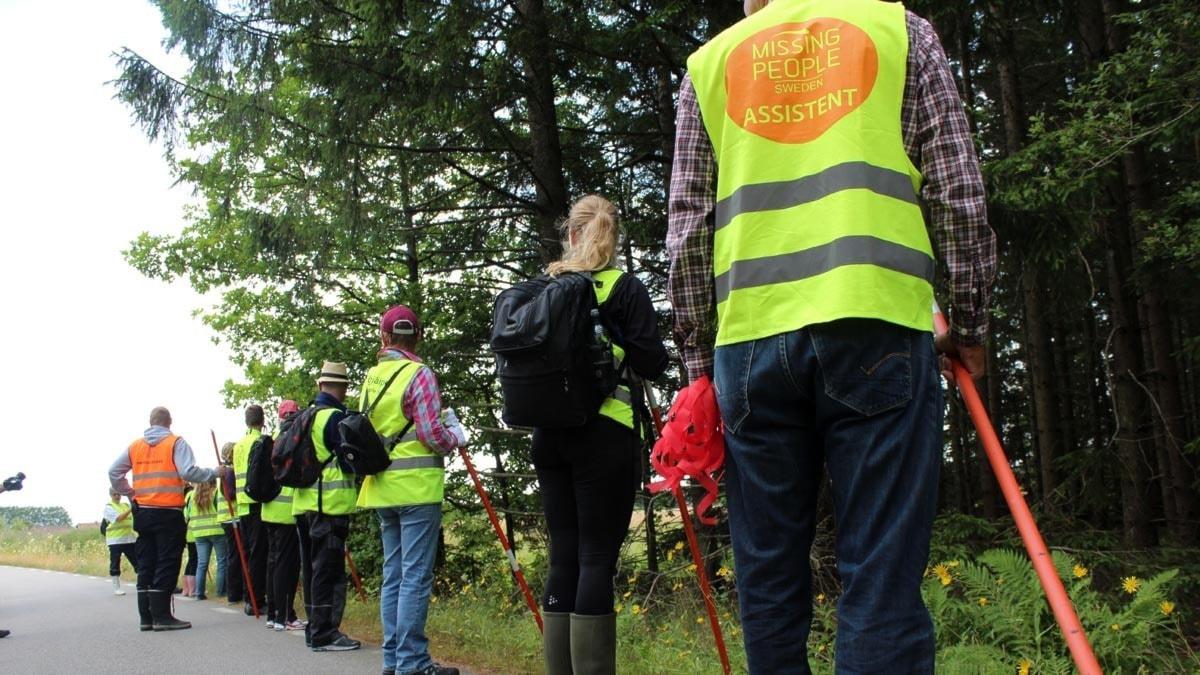 Missing People Trollhättan. Bild: Filippa Bohlin/P4 Väst Sveriges Radio