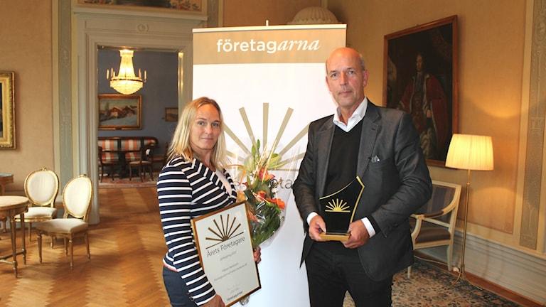 Frida Boklund och Håkan Axelsson.