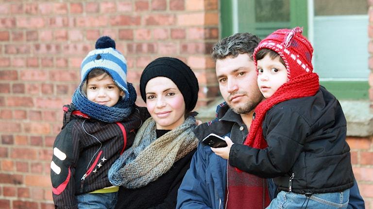 Rodeen Shaikh Mohammad och hennes familj.