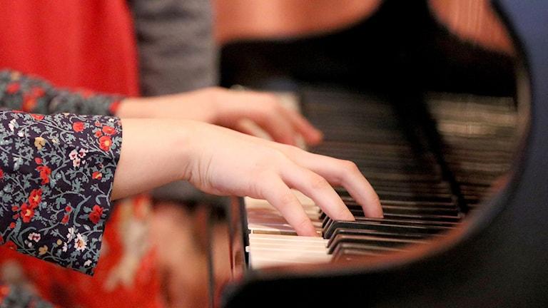Piano barn undervisning musik