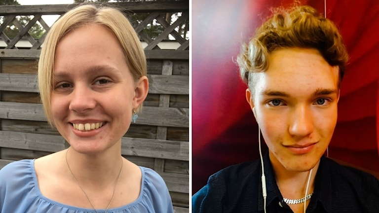Emma Sjögren och Zakarias Johansson