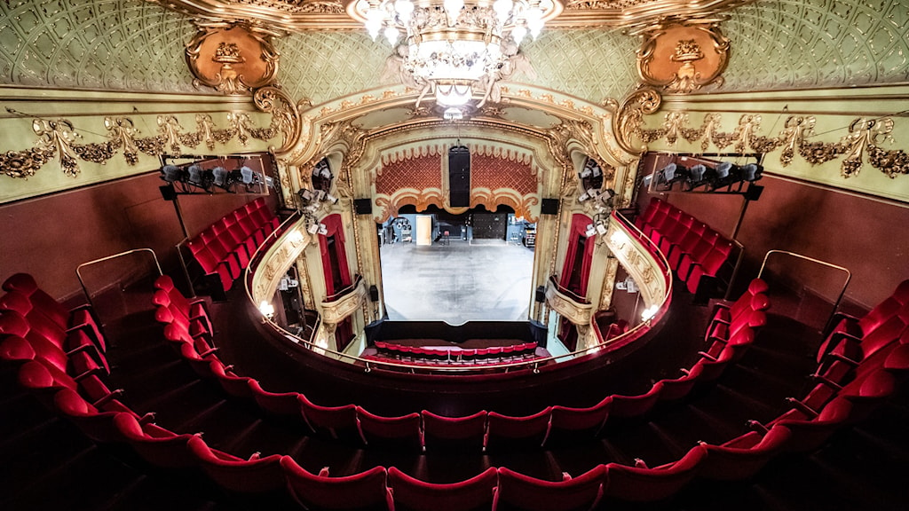 Teaterlokal.