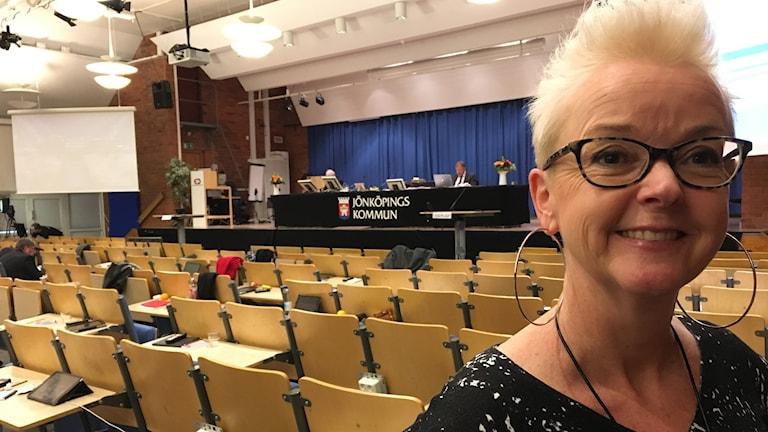 Anna Mårtensson är ledamot i kommunstyrelsen i Jönköpings kommun.