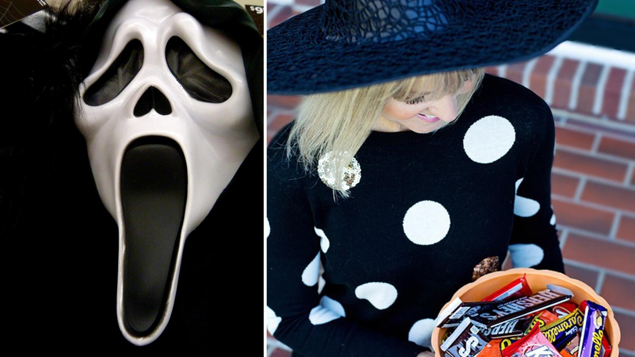 Viveca Bladh ger sig ut på jakt efter Halloween-musiken och vi har gjort en skräckig låtlista som heter duga. Med Ylva Nilsson.