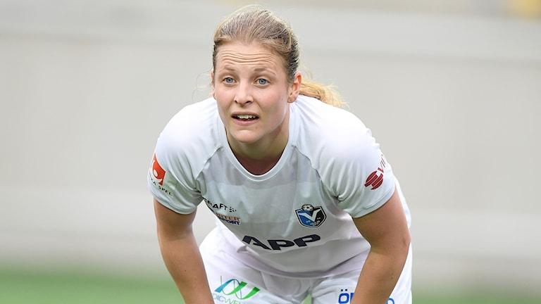 Anna Anvegård i Växjö DFF.