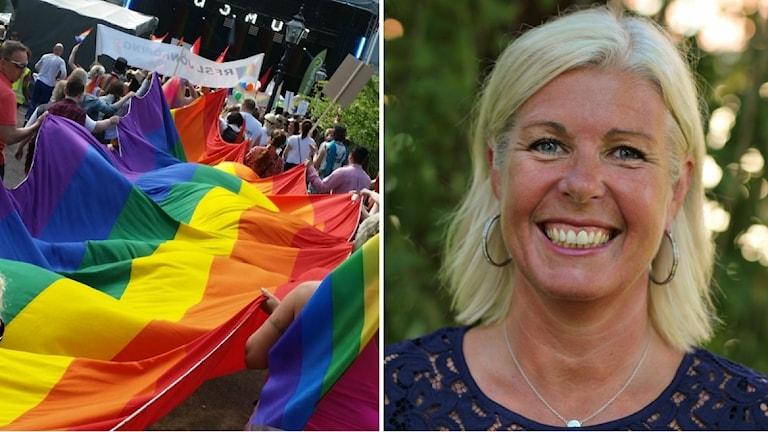 Ann Enblom kommer att gå i prideparaden på lördag i Jönköping.