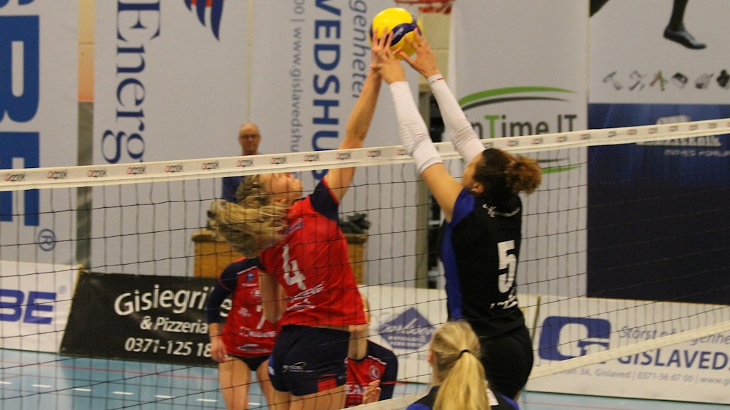 Gislaveds volley i SM semifinal mot Engelholm