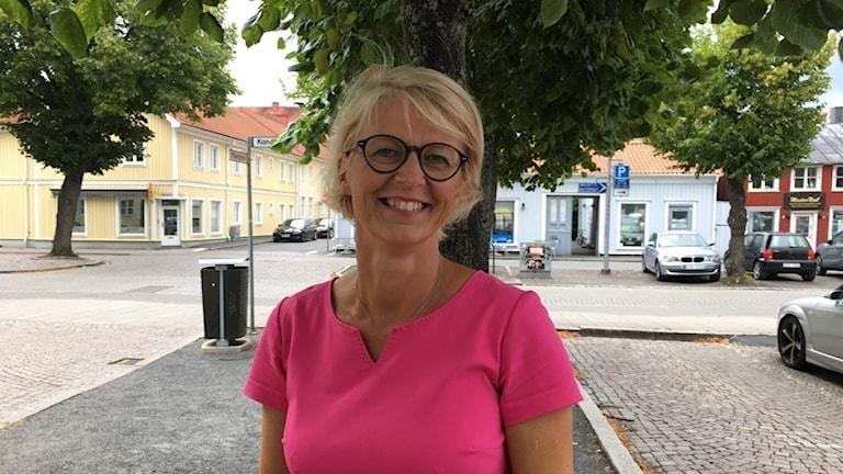 Elisabeth Svantesson, moderaternas ekonomisk-politiske talesperson.
