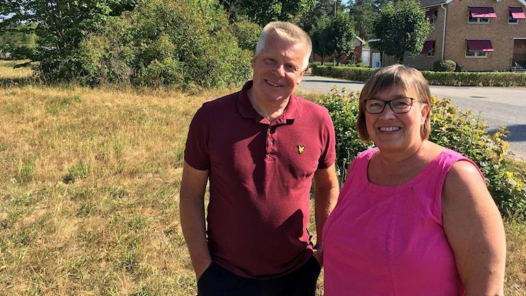 Hans-Göran Johansson (C) och Marie Johansson (C).