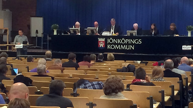 Kommunfullmäktige samlas i Jönköping.