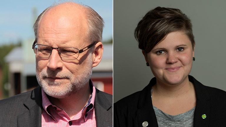Stefan Attefall och Emma Hult.