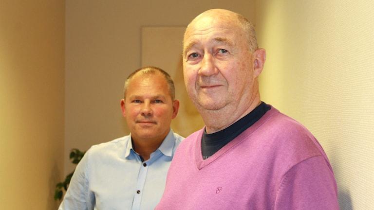 Thomas Bergholm och Anders Jörgensson.