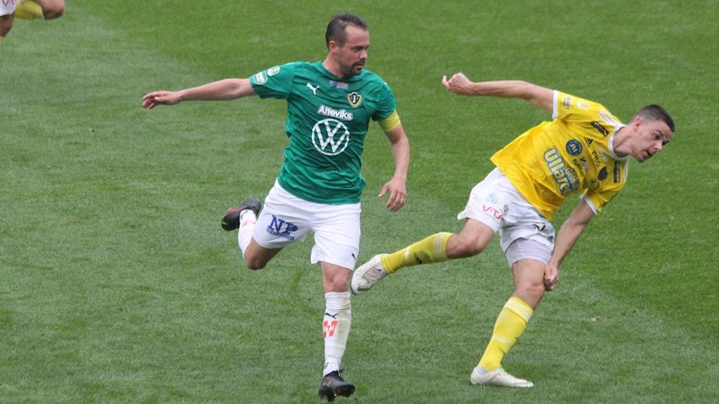 J-Södras lagkapten Fredric Fendrich var en av målskyttarna.