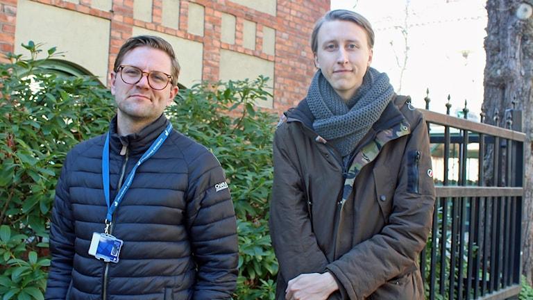 John Ahlström och Per Lööv