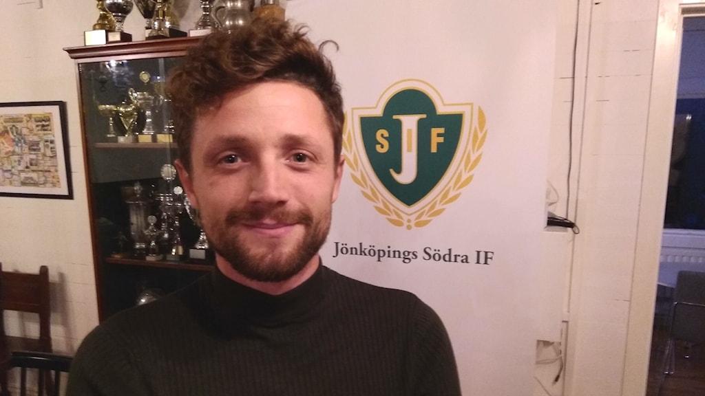 Kujtim Bala, sportchef i J-Södra.