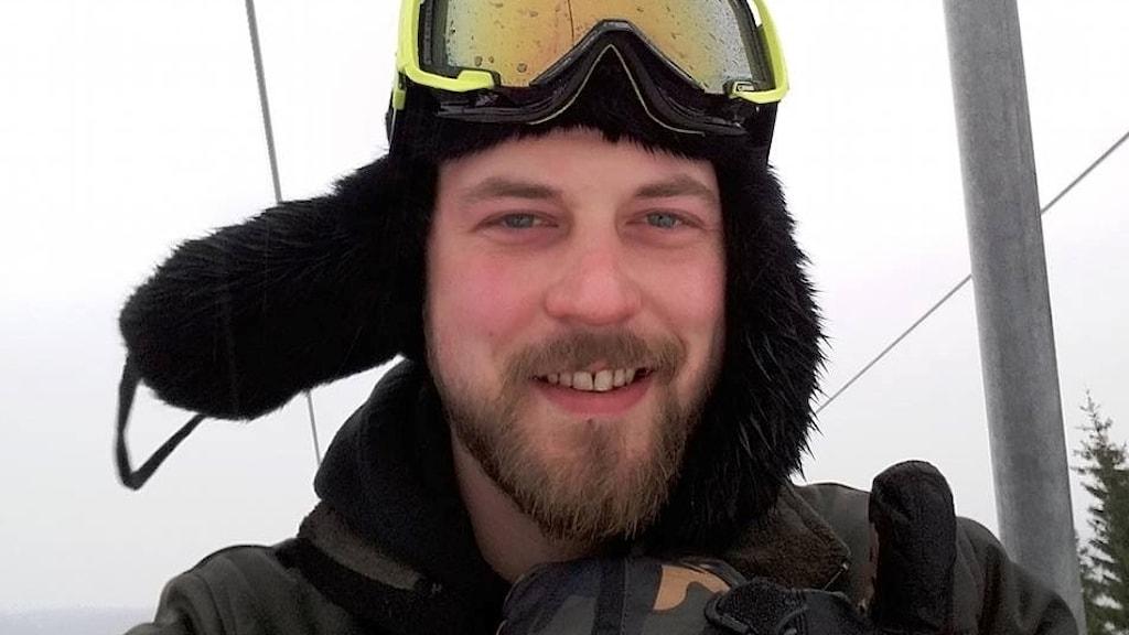 Hannes Haraldsson från Korsberga.